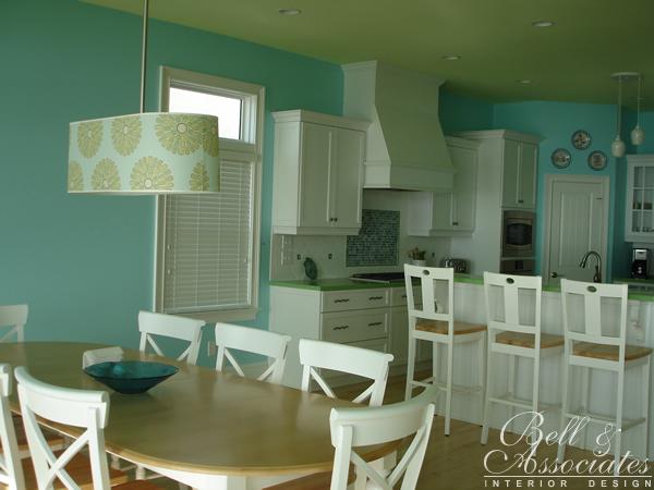 Beach House Kitchen Interior Design Raleigh