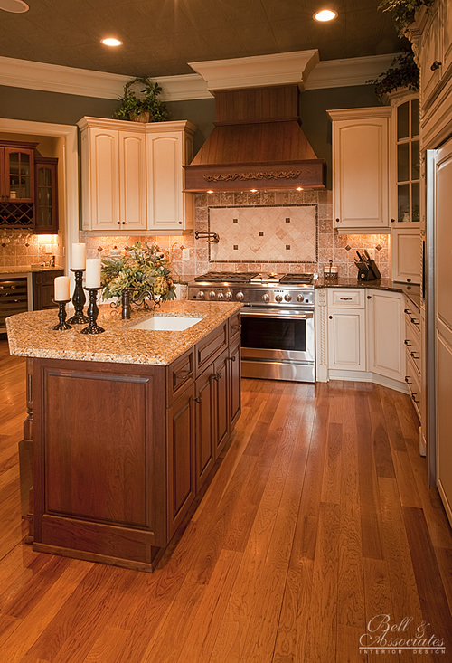 Kitchen island range interior design raleigh for Kitchen design raleigh